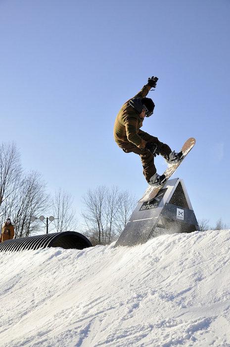 Red Bull Switchboard Jon Coen snowboarding