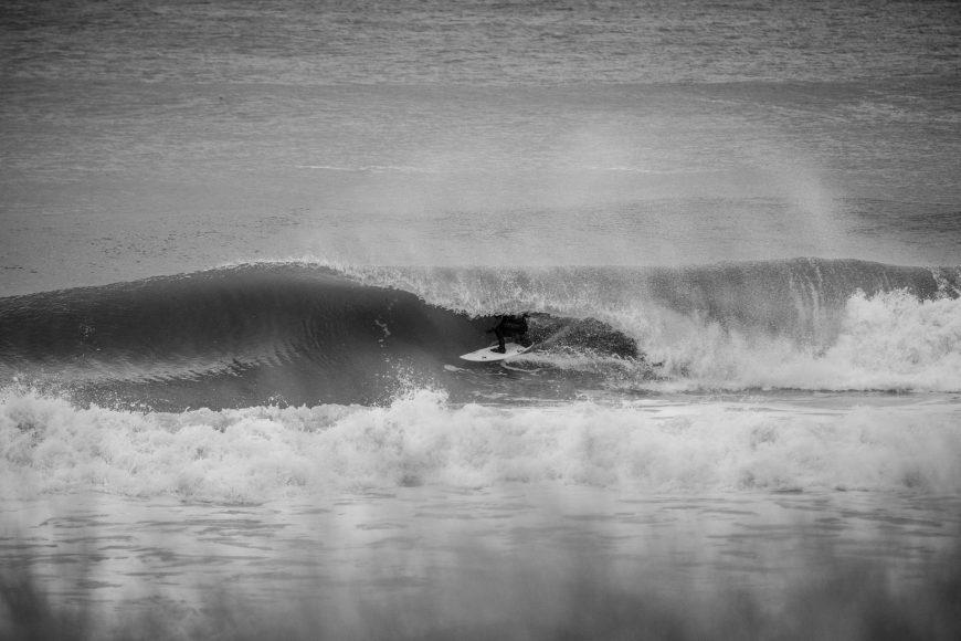 Jon Coen surfing