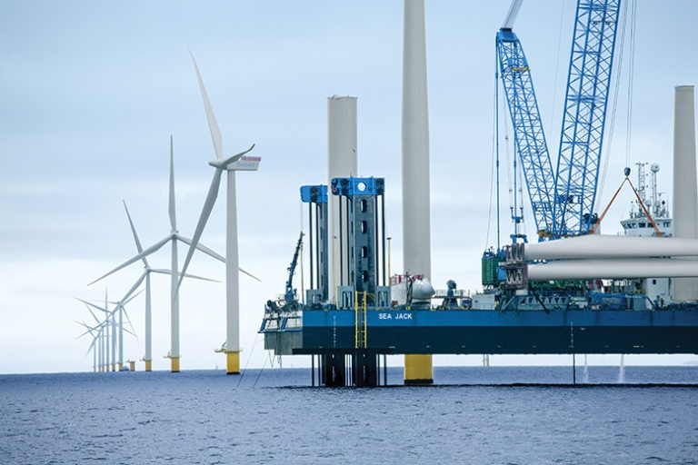 Ocean Wind, New Jersey, nation's largest offshore wind farm under construction