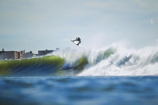 Quick Pro New York Jon Coen for Surfer Magazine