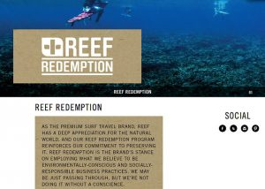 Reef Redemption Website