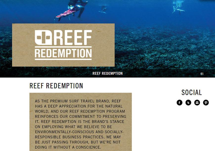 Reef Redemption Website
