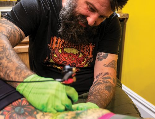 Right Coast Tattoo Move for the Sand Paper