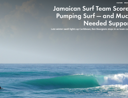 Jamaican Surf Team Scores Swell and Support