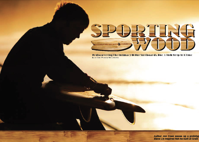Grain Surfboards feature, Eastern Surf Magazine