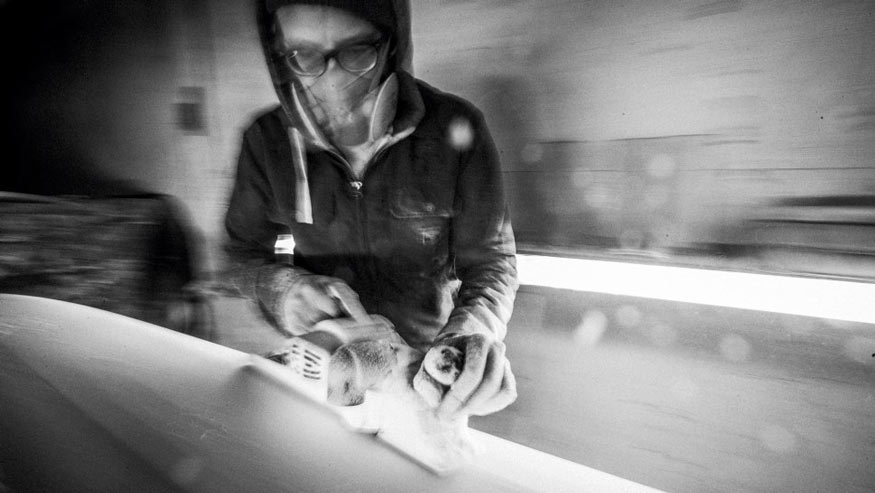 Pyzel on Simple Tools for A First Backyard Board for Surfer Mag